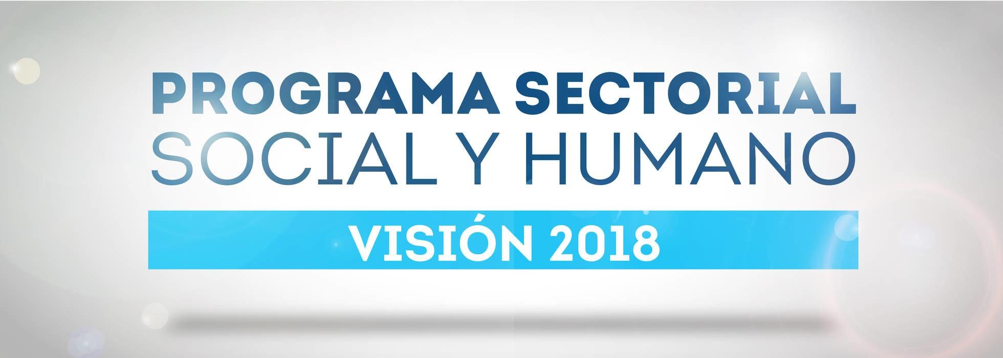 Programa Sectorial Social y Humano